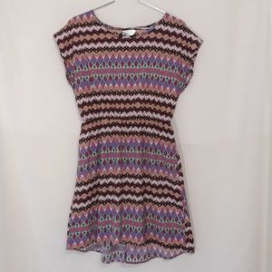 Just Be High Low large dress